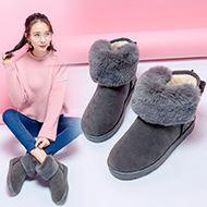 亿家乐冬季时尚休闲雪地靴