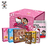 旺旺Hello Kitty定制零食礼盒