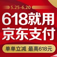 京东支付618优惠