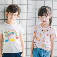儿童童装纯棉短袖t恤