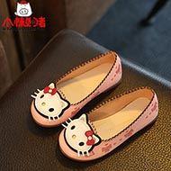 儿童可爱猫咪公主鞋