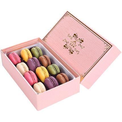 莫点法式马卡龙甜点礼盒装12枚