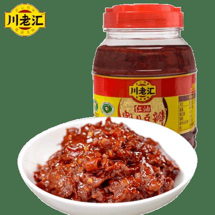 川老汇郫县正宗红油豆瓣酱1kg