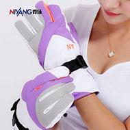 冬季款韩版棉绒加厚手套