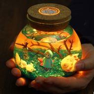 七夕礼:情人节创意礼物生态瓶