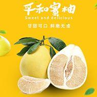 新鲜平和琯溪白心柚子5斤