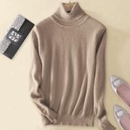 秋冬高领打底100%纯羊绒衫