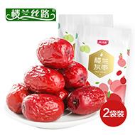 10点:楼兰丝路新疆一级若羌红枣500g*2袋
