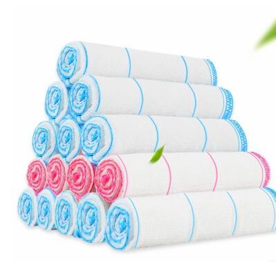 10条夹棉吸水不沾油棉纱百洁布