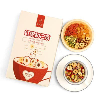 忆江南红枣桂圆枸杞茶120g礼盒装