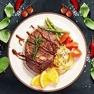 赤豪牛排套餐10片装+牛排煎锅
