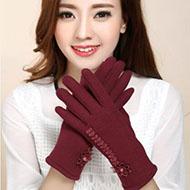 誉赫 秋冬季女士触屏手套