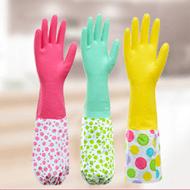 防水家务乳胶手套2双