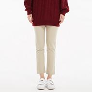 女士彩色梭织长裤