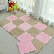 家用拼接泡沫垫绒面地垫