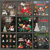 百乐美 圣诞节玻璃橱窗贴纸