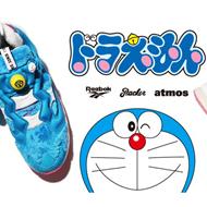 蓝胖子!锐步机器猫联名鞋发布