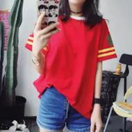 韩国ulzzang原宿风T恤