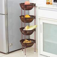 微佳达厨房塑料收纳筐