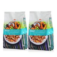 2袋 ICA 50%水果坚果果仁燕麦片750g