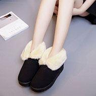 哈萌加绒保暖百搭时尚棉鞋