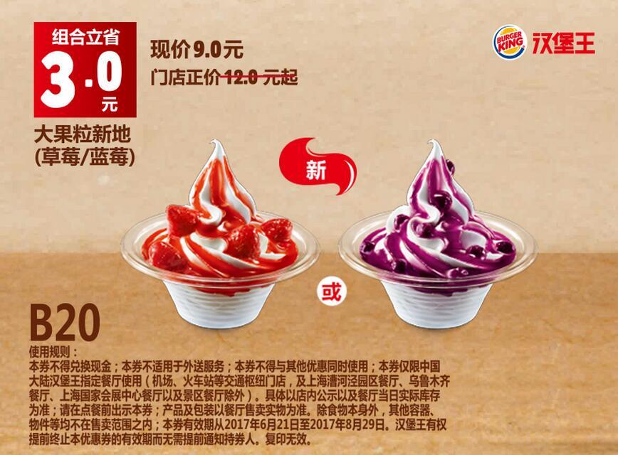 B20大果粒新地(草莓/蓝莓)