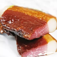 农家自制干腌制烟熏土猪肉