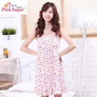 粉色甜依薄款可爱睡裙