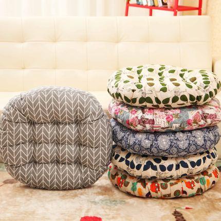 毛绒椅垫座垫办公室榻榻米垫