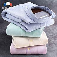 朗蒙加绒加厚保暖衬衫