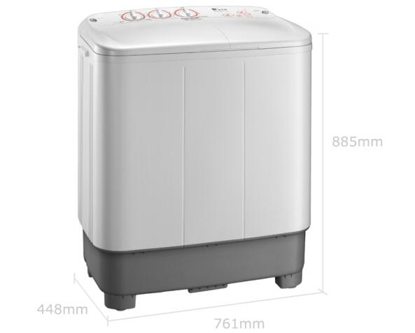 限地区:小天鹅7.5公斤半自动双缸洗衣机