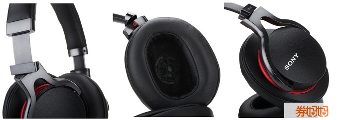 SONY索尼 MDR-1A 高解析度头戴式耳机 实付