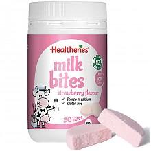 Healtheries 贺寿利 牛奶片 草莓味 190g