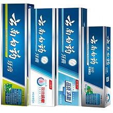 云南白药 牙膏组合 4支装(薄荷香型210g 双效抗敏110g 清新晨露100g 冬清香型30g)