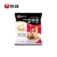 临期特价:韩国农心进口土豆面袋面非油炸方便面117g