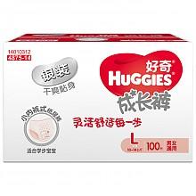 HUGGIES 好奇 银装 成长裤 L100片