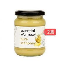 Waitrose 纯结晶蜂蜜 玻璃罐装 454g*2瓶