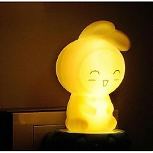 温暖亮光# 久量 LED创意床头小夜灯
