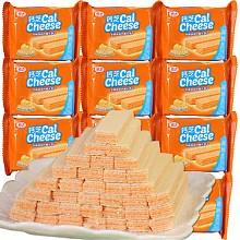 【京东超市】印度尼西亚进口 钙芝(Calcheese) 奶酪味高钙威化饼干585g(58.5g×10袋)