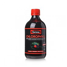 排毒养颜# Swisse 梅子味叶绿素 500ml*2瓶