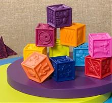 B.Toys 捏捏乐 数字浮雕软积木 锻炼宝宝认知能力