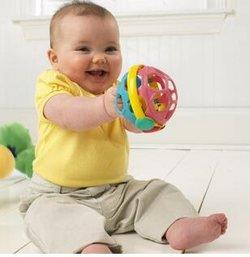 Baby Einstein Bendy Ball 小小爱因斯坦 柔韧手抓球