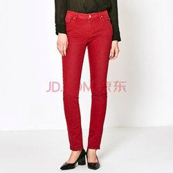 ASOBIO时尚修身牛仔长裤