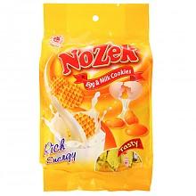 诺滋客 鸡蛋牛奶味饼干 270g*3袋   巧克力派 180g*2袋