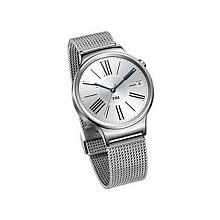 新低价:HUAWEI 华为 WATCH 智能手表 星河银不锈钢编织表带