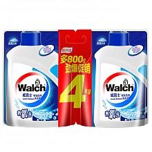 Walch 威露士 有氧倍净洗衣液 袋装(补充装) 2kg+2kg*4件