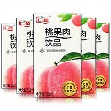 汇源 桃果肉饮品 125ml*36盒