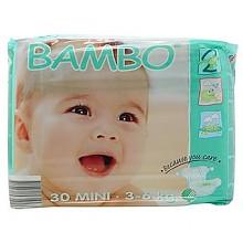 Bambo 班博 有机纸尿裤 S号 30片*2件