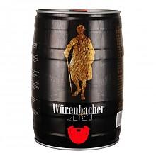 Würenbacher 瓦伦丁 黑啤酒 5L