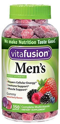 Vitafusion 男士维生素软糖150片